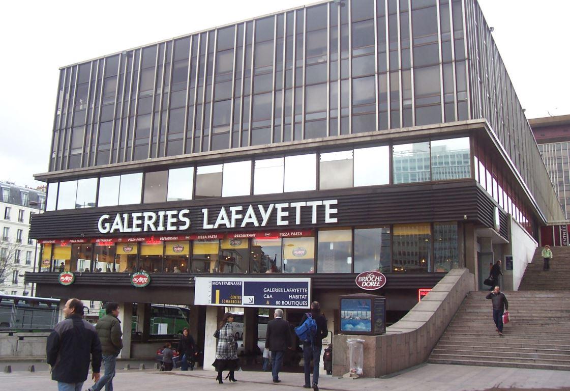 Galerie Lafayatte Montparnasse Paris 15: Travaux d'aménagement ,maçonnerie , platerie .