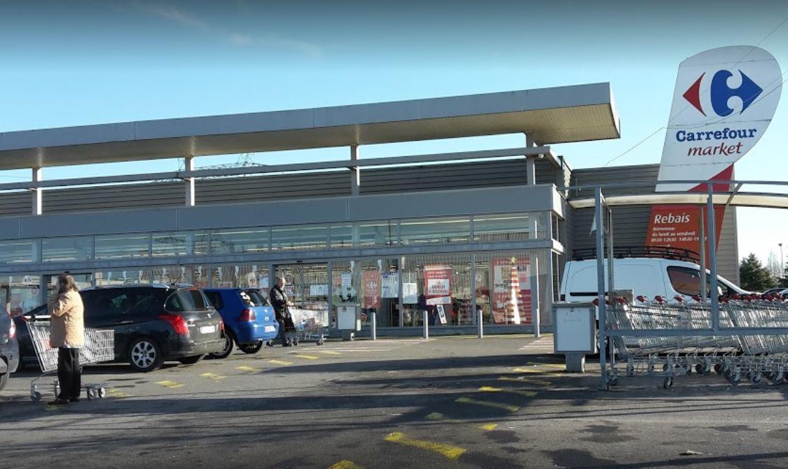 Carrefour Market, ZA Le Pré St Ancel, 77510 Rebais ,: travaux de maçonnerie